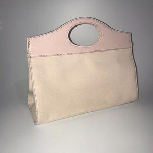 Fossil // Vintage Blush Pink Clutch Handbag Purse
